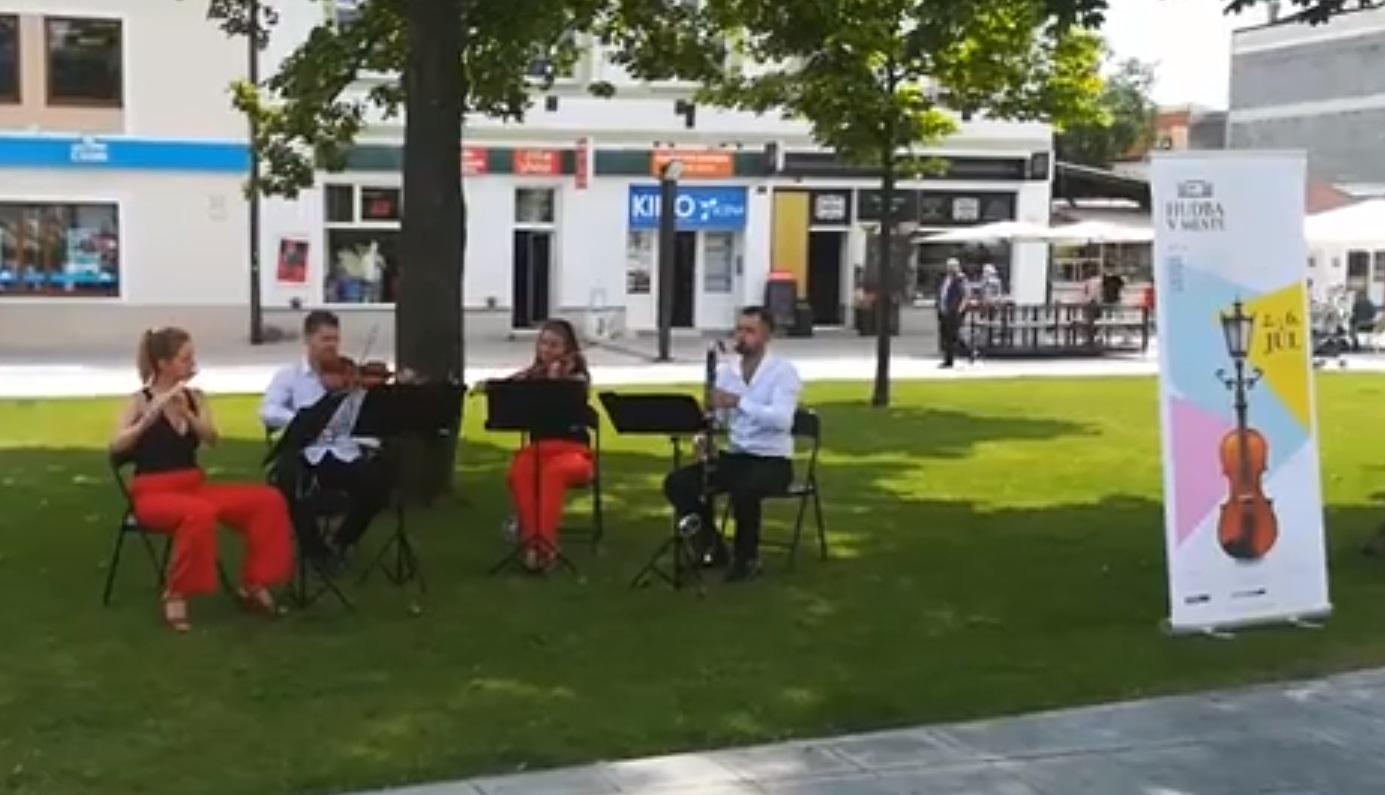 Excess Quartet - Hudba v meste Martin